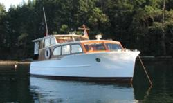 Classic Monk cabin cruiser. Perkins deisel. 1000 hrs. New starter and alternater. New everything. Boat is totally redone. GPS, VHF,sounder,auto helm, flat screen dvd player. I-pod dock, CD player. Propane heater, stove, bbq. Bus heater, electric heaters.