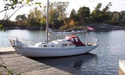 This boat has been upgraded every year, since 2003. Westerbeeke Diesel, 21-3, 4000 hours, new 2 burner non-pressurized alcohol stove, mast step repaired, deck repainted in 2008, all deck hardware reseated, new metal toerail, new marine head in 2009,