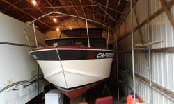 Stunning older fiberglass over wood boat built in Richmond 1969, boat is near flawless just surveyed and no issues, bright work paint vinyls all perfect, new 350 merc long block 60 hrs type 3 leg, to much to list must see. No radar no VHF (I use a hand