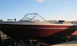 1975 saturn boat has a 6 cylinder 231 gm motor in it needs a little tlc timing is out a bit but does turn over need to sell asap boat is approx. 19 ft. the leg has new seals in it an gear oil is winterized  open to offers
