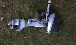 1975 Jonson Evinrude 5hp Runs great Perfect for small boat New impeller last year $350
