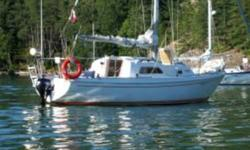 """We have a 26 ft Pearson sailboat for sale. The boat is in great condition, and she has given my wife and I some of our best memories and adventures """"island hopping.""""    The outboard is fairly new (2010),  it has  a new deluxe barbeque on deck, flushing"""