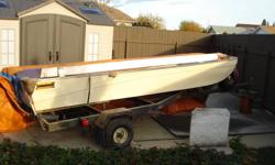 I have for sale a like new condition 14' trihull boat with a saturn tilt bunk trailer . this boat has been a one owner boat purchased brand new in 1978. It has been stored inside up until last year since day one this boat has only been used a handful of