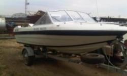 1979 sangster craft with 70 hp johnson 16'  runs good new floor and carpet, fish finder. its a great family boat. new wheel bearings put on this summer.  call ben @ 403 597 6774