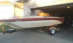 We have owned this boat for the last 12 years and it has never left us stranded. A few nicks here and there but in overall good shape. Very dependable and starts everytime. We have used for pulling kids on tubes, wakeboardin & fishing - just an overall