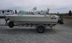 Original Owner, well maintained Repowered with Mercury MerCruiser 3.0 litre with Alpha 1 Sterndrive Roadrunner trailer - great condition, new disc brakes installed 2015 Standard Horizon CPF180i chart plotter/fish finder combo Manual hydraulic trim tabs