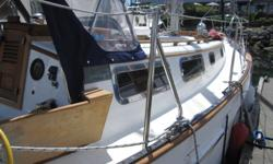 For Sale 1982 Roughwater 33 sloop This double ended sloop was designed by Thomas Gilmer and built by the Tao-Yuan boatyard in Taiwan. The years of production were 1975 to 1985. These are proven Blue Water cruising boats with Scandinavian double-ender