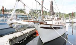 """A West Coast classic! Her dual helms provide options for warm and dry, year-round exploring of the coast. This is a one-owner vessel. Built by DeKleers of Richmond, BC as a hull and deck and custom finished for her owners. """"Perpetuity"""" offers tonnes of"""