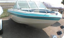 This Fix me upper 1984 Swiftsure 525 Bro features: Blue fleck Fibreglass Hull (needs fibre glass work) Sleeper and Jumper Style Seating Open Bow 115 HP Yamaha Engine On a EZ Loader (Roller Style) trailer Package Price $2800. Serious inquires only. Please