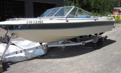 This boat is priced to move!The interior is in excellent condition. It comes with a closed bow and a 3.0L Mercruiser Engine. Located at the Eganville location. Please call 1-888-212-9289 for more information and to schedule a viewing.