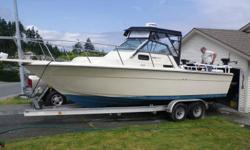 Accessories; 2 Scotty Electric down riggers Lowrance LCX-27 fish finder/chart plotter/GPS with built in Radar. Radar dome purchased 2011. Standard Horizon VHF radio 4 life jackets 2 new batteries purchased in 2011 Boss sterio with water proof speakers 5.7