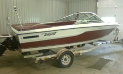 I am selling my 1986 120hp Tempest Inboard. It is in excellent boating condition. Used it all last summer with no problems. Its roughly 19ft long, and the sale includes the trailer and a fully waterproof trailering cover. It has newer Vinyl. New Battery.