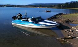 NICE LITLLE BOAT , 75 HP. MERCURY OUTBOARD , DIR. OIL INJECTION , HYDRAULIC STEERING AND LIFT , EL. BILGE PUMP , TRAVEL COVER