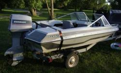 1986  16' glastron with a 75 horse evinrude motor.  willing to trade for any interesting trades. or 4500 obo.