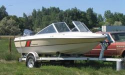 1986, 16ft Peterborough boat, with a 70hp Yamaha motor.  Comes with an easy loader trailer and a fish finder.  Great starter boat.  Runs awesome.  $4500 obo.  If interested you can reach me at 403-928-0123.  Feel free to leave a message.
