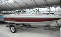 I have a 1987 monte carlo open bow boat fro sale. Its manufactured by ebko, its 17ft long. Has a 2.5 litre inboard/outboard mercruiser drive, the boat is almost mint and needs a new home with a family that will use it. The boat also comes with a shore