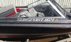 Looking to sell my 1988 Baja Sunsport 164 boat powered by a 1990 115HP V4 Johnson. Ready to go for the boating season!! Was in at Protech for spring service and test back in April 2014, had the carbs rebuilt spring of 2013, plus new plugs wires, new prop