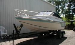 '88 Mercruiser  Executive 21.5 ft inboard 190 HP Fish Finder, Great Condition,   Asking $5,100.00 o.b.o For more info call Jake @ 519-875-3396