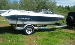 Boat is in good shape hull is sound and NO soft spots on the floor. needs engine had a 4.3l Mercruiser in it. Needs seats and some interior work. dash is complete steering works and is not seized. Trailer has newer tires and tows great. Trailer is worth