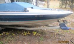 1989 18ft Bayliner 2.3L Cobra. Comes with trailer, fish finder, tubes & rope, runs excellent and in good condition. Great boat for beginers. Looking to sell quick. Make us an offer. Selling for $5500.00 OBO