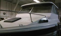 This boat as a new install roof with a lot of new parts install, New floor, its is a project to finish, due to my moving, I want have time to finish this project. I do have a lot of parts that come with it. just call for more info if this interest you.