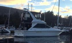 "This well maintained beauty has everything y need in a boat. She is powered by twin Mercury Marine Blue Water V-8 450 hp each. LOA 38' Beam 12'6"" Draft 3'9"". 50 amp Quicksilver generator, 20 kg Bruce anchor with 200' of galvanized anchor chain with"