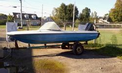 Selling a 1989 , 50hp Evenrude with a  15ft Sunray boat . Boat needs some work , no seats . Motor is very clean . For more info call day 902-538-7449 or evenings call 902-538-7672.