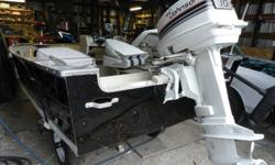 I have for sale a 1989 Princecraft Resorter thats be redone inside and repainted outside, electrical system installed. 2 storage compartments. Brand new deep cycle battery,Colorscreen 141c humminbird fishfinder, bildge pump, paddle, life jackets, saftey