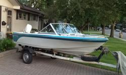 1989 SwiftSure 465 BRO with 70hp Outboard motor. Boat is in great shape, always stored indoors. Oil injected motor starts and runs excellent and has been well maintained. Comes with fish finder, paddles, life jackets, swim ladder and two fuel tanks,