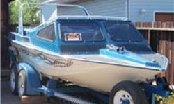 1990 marathon 19' jet boat with a 454. its got around 260 original hours on the boat and engine.  I just don't use the boat enought to keep it around   18,500 O.B.O.     I have the wing off right now.