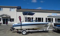 1990 Thundercraft 1660 LS Description: This Thunder Craft inboard/outboard runabout has a fiberglass hull, is 16.5 feet long and 80 inches wide at the widest point. The boat weighs approximately 1600 pounds with an empty fuel tank and without any gear or