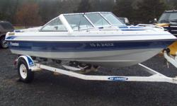 1993 BOW RIDER FORESTER 16FT SPORT, 3.0 LITRE MERCRUISER, ALPHA ONE STERN DRIVE, EZ LOADER TRAILER, MOTOR IS NO GOOD HAS A CRACKED BLOCK, BOAT & TRAILER IS IN EXCELLENT COND. CAME FROM ALBERTA, $2500.00 902-634-3807