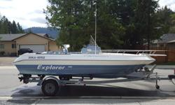 1993 Campion 190 Center Console. 1993 Mercury 115hp 2 stroke outboard. 2012 Suzuki DF6 4 stroke kicker. Older Lowrance fishinder. New VHF radio. This boat is a great all around boat in great shape. It is perfect for fishing, cruising, water sports,