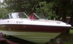 PERFECT AS A START UP BOAT AND FAMILY FUN! Only 216 Hours 4.3 Lt, 205 HP Engine 19 ft Only has had 2 owners (same family) With travel Trailer Great condition Runs very well Hull in excellent condition Never had major repairs or accidents always kept