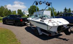 93 sea ray bowrider works awsome gets up on the water easy and fast with 6 people in has a wake tower and speakers 3liter engine rock the key and it's running very easy on gas tow and play around for a afternoon for $30 new stereo,prop,new evacuation
