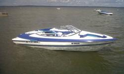 20 Foot 1994 Wellcraft Excell   - 4.3L V6 Mercruiser Inboard - Open Bow - New Bimini Top - New Sony Stero - Travel Cover - Seating Capacity: 8 - Stainless Steel Prop + Spare Aluminum Prop - Paddles & Fish Finder Included - Dual Batteries and Battery