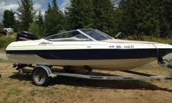 1995 Campion Bowrider with 135 Mercury Black Max 2 stroke with auto mix. 5 blade stainless steel prop 1995 ezloader trailer, full canvas, boat cover, Bluetooth stereo, all bumpers, 2 anchors, tow bar and ropes. The boat has been well looked after, we are