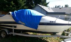 selling on behalf of friend with no internet a 1995 20ft bayliner with cuddy 2052 model, 3 litre inboard mercruiser engine, set for fishing , comes with trailer, needs tlc to seats . perfect for lakes /fishing , please phone only on 250-927-3797 as I will