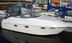 1996 Chris Craft Crowne 25 - A top quality boat in emaculate condition!! Features a 5.7L fuel injected Volvo Penta with stainless steel duo props. Only 500hrs!! New electronics, new porcelin head with macerator, new everything!! Very Very Clean and Nice,