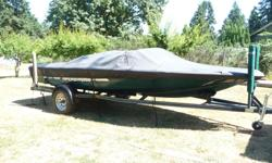 This is a good solid boat. Only 400 hrs on engine. I am the 2nd owner. Just not waterskiing enough to keep it. It also has a wakeboard tower. The paint is oxidized but the boat is in great shape. I hate to sell it 250 701 5153