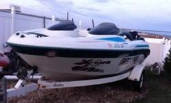 Seadoo challenger twin engine for sale as is good condition please call 780-799-6885 to view. This ad was posted with the Kijiji Classifieds app.