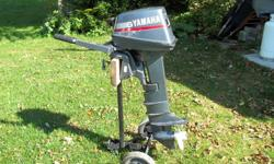 Yamaha 6hp long shaft 1996 in ex cond. low hrs includes tank $850 obo