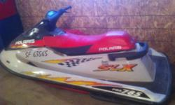 1997 Polaris pro 785 slx water craft. Mint shape with only 78 hours. Very fast machine will do 68 + mph. Comes with cover. Upgraded stator. Asking 2500 or may take interesting trades Contact Dave at 791 0483 This ad was posted with the Kijiji Classifieds