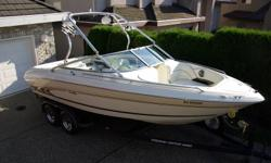 1997 Sea Ray 210 BR Signature Series 16750 o.b.o. Mercruiser  5.7L/V8 Alpha one Gen II with 220 hours TrailRite Dual Axel Surge Brake trailer with removable tongue, spare tire & bearing buddies Custom 9 Speaker Stereo equipped with Wet Sounds/Alpine