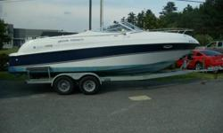 1998 FOUR WINNS SUNDOWNER 245 WITH MATCHING FOUR WINNS GALVANIZED TRAILER. Fresh water boat!!! Boat has fuel injected 5.7l Merc with DUOPROP volvo penta outdrive. New fuel pump last summer. Less than 400 hrs. Boat and trailer need nothing. Has mooring