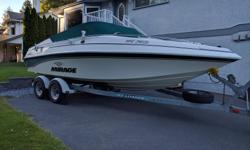 1998 Mirage sport boat. Great on either the lake or in ocean. Very fast, stable and dry. Well maintained with no expense spared. Serviced regularly by professional mechanics. Receipts available for service and repairs. 1. Recent 383 Fast Burn (385 hp)