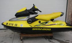 very clean 1998 seadoo xp all original; runs perfect slightly sun faded seat cover, overal very clean seadoo trim works, but speedo and fuel gauge does not   $3200   519-816-8385
