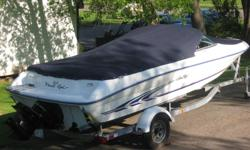 Meticulously owned and maintained.. This 18ft boat is in top condition inside and out. 3.0L Mercruiser with an Alpha 1 outdrive. Power steering and power trim, 2 canvas covers, never kept in the water and always flushed properly after every use, 2005