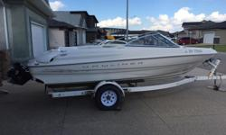 17.5 foot Capri Bowrider and Trailer, 3.0 litre, 135 hp inboard. Have owned this boat since 2002. Includes cruising canopy, tonneau cover, fish finder and travel tarp. Also have wake board, 7 life jackets of various sizes, tube, water skis, and two tow