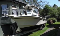 Hull survey just completed on this Turbo diesel fresh water cooled, KAMD 44. 1999 Grady White Sailfish 274 Single I/O Volvo Diesel Price: KAMD 44 Volvo 260 HP Turbo Diesel Engine (fresh water cooled) Patented Grady SeaV2 Hull design provides a nice